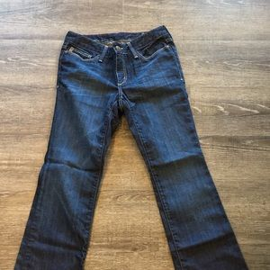 Eddie Bauer Barely Boot jeans size 4 short